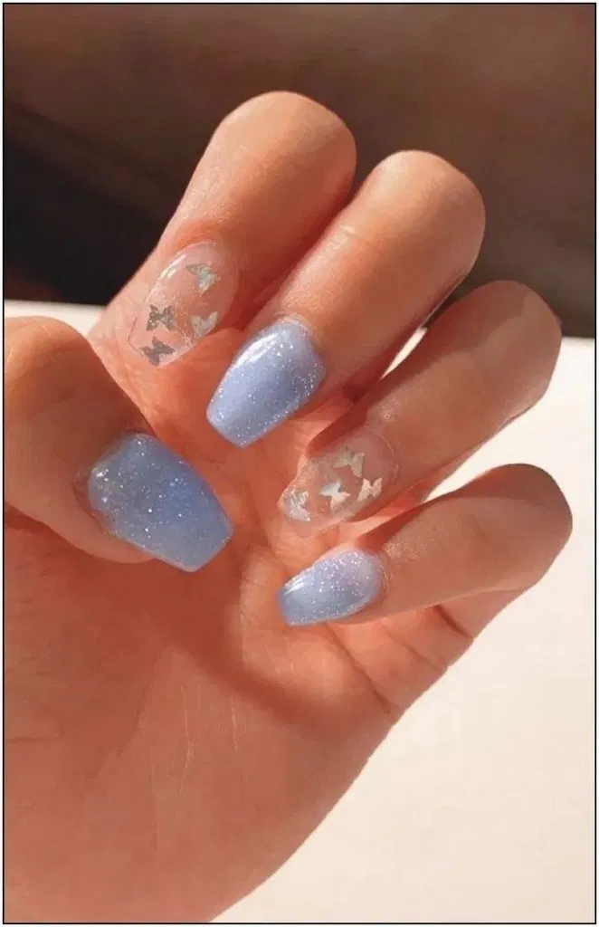 132 Fantastic Long Nails Art Style For Teenage Girls In 2020 Square Acrylic Nails Best Acrylic Nails Blue Acrylic Nails