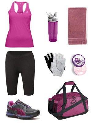 Ropa para ir al gimnasio ropa deportiva pinterest for Deportivas para gimnasio
