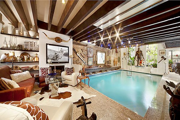 Cool Swimming Pool Living Room Indoor Swimming Pool Design Home