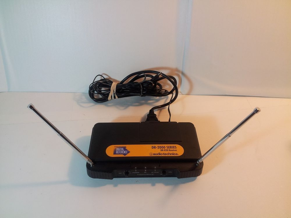 Audio Technica Dr 2000 Series Dr R20 Receiver Only For Wireless Guitar System Audiotechnica Audio Technica Ebay Musical Instruments