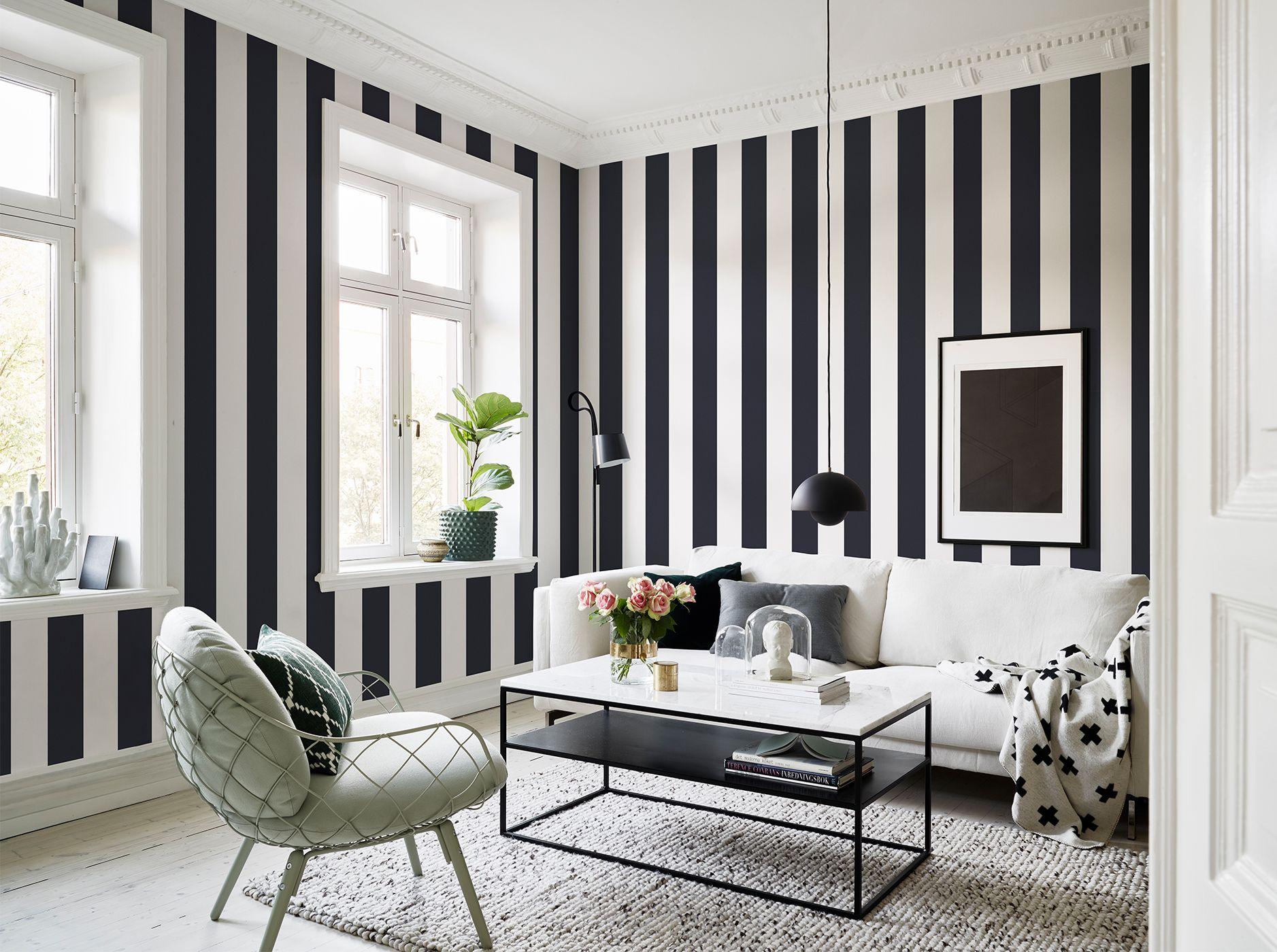 10 Striped Wallpaper Design Ideas Bright Bazaar By Will Ta