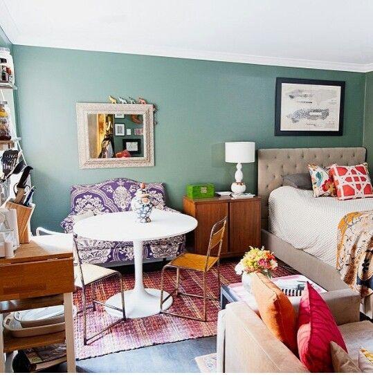 New York Studio Apartments: Small Room Design, Studio