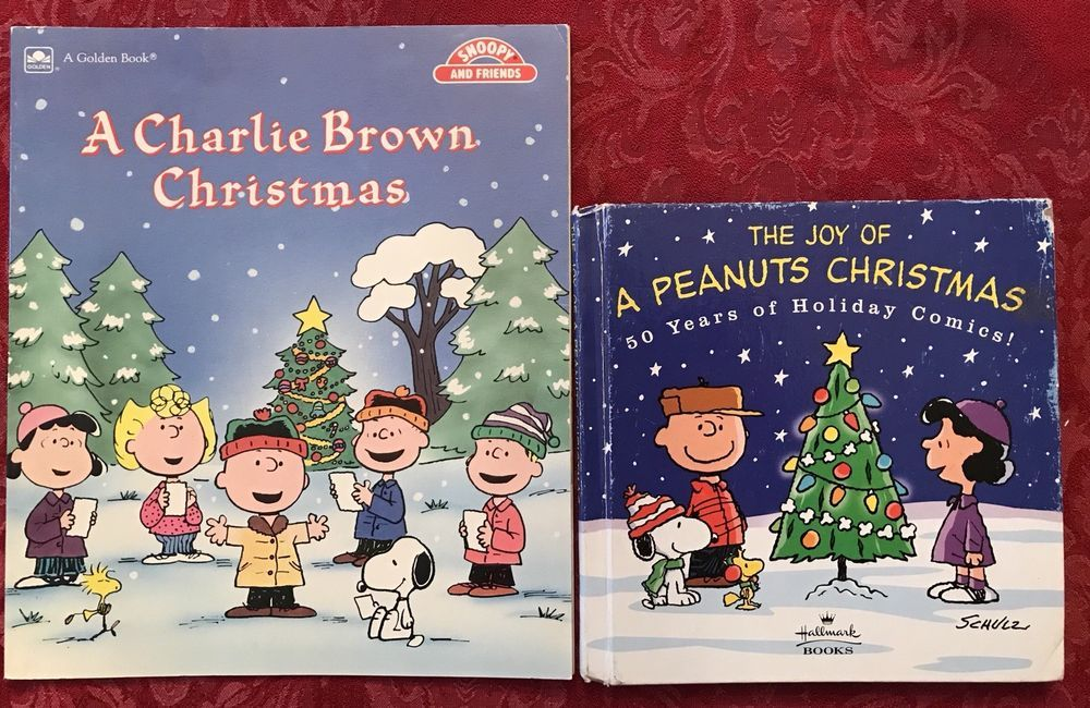 A Charlie Brown Christmas Book.A Charlie Brown Christmas Charles Schulz Golden Book 1988