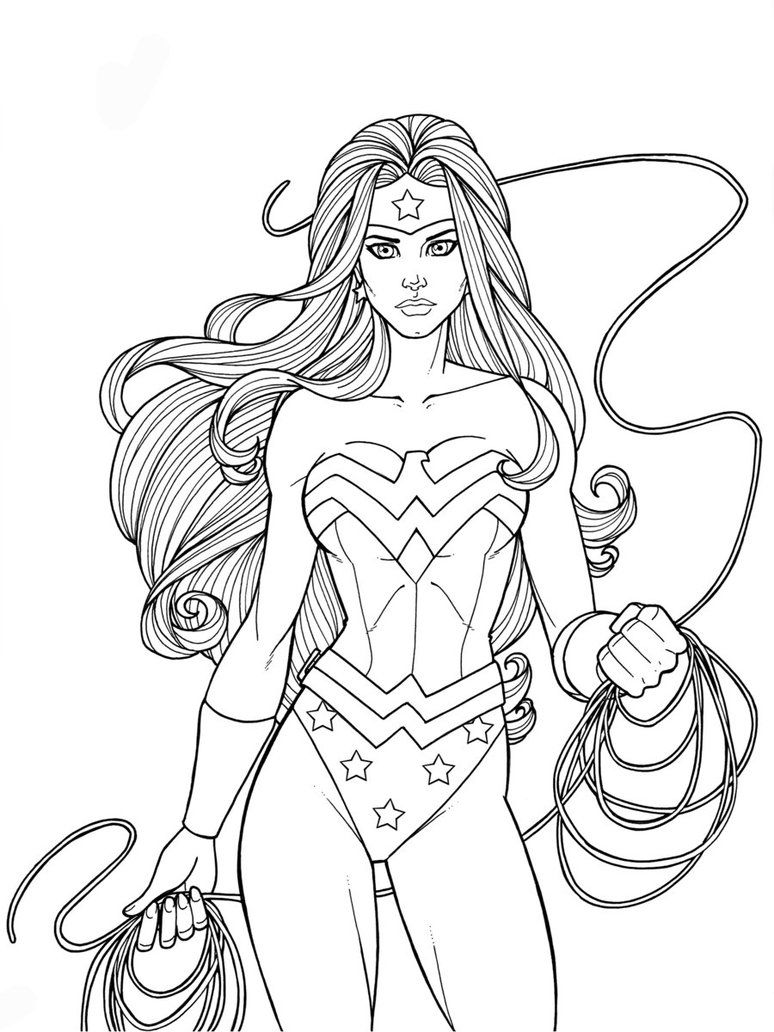 She S A Wonder Superhero Coloring Pages Superhero Coloring Wonder Woman Tattoo