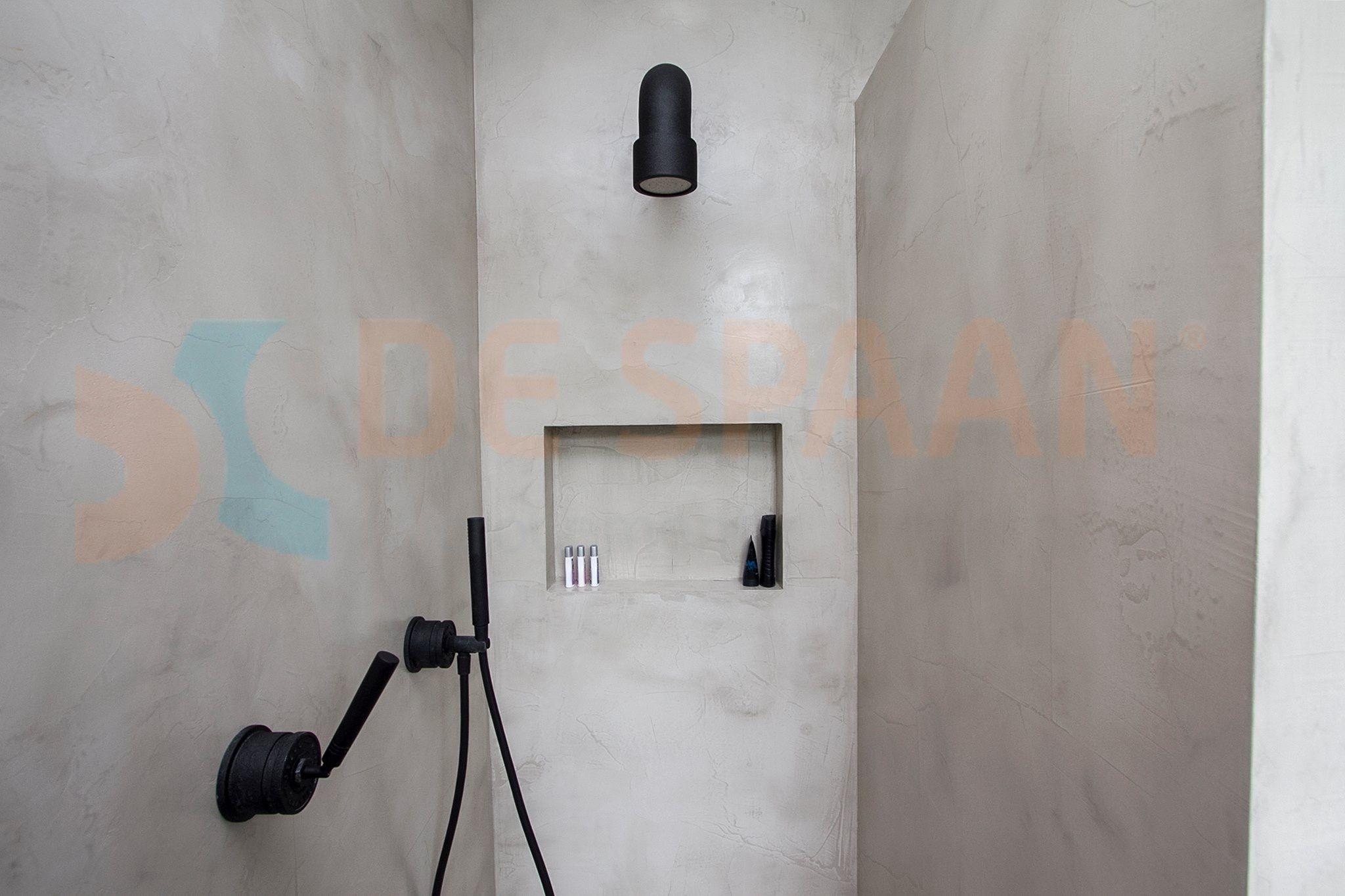 Naadloze Badkamer Wanden : Betonlook? waterdicht stucwerk in badkamers? kies voor microcement