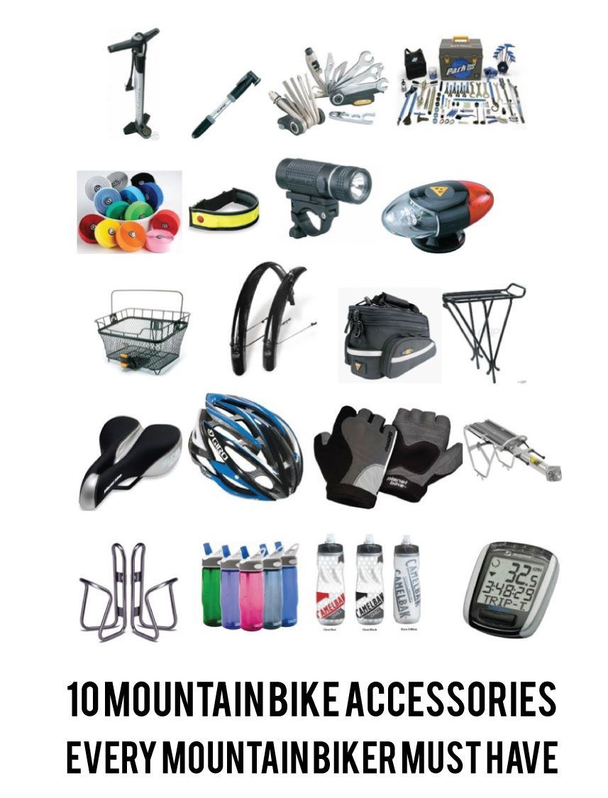 10 Mountain Bike Accessories Every Mountain Biker Must Have