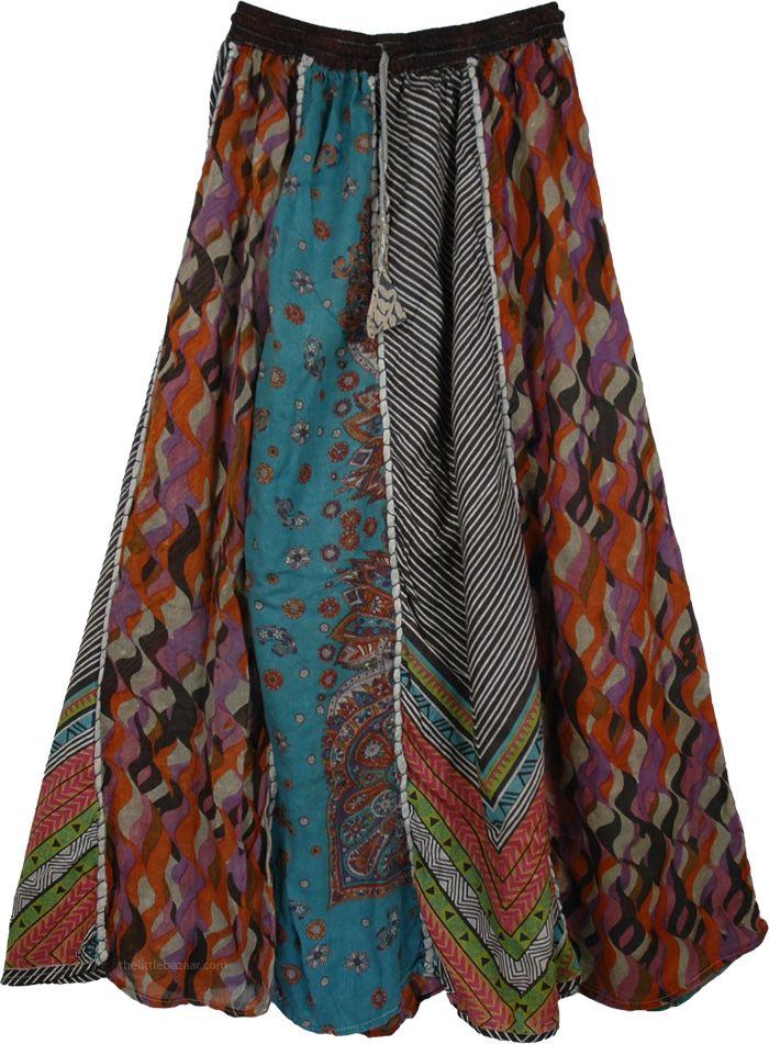 Boho Skirt Pattern 46
