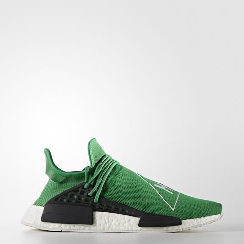 Zapatilla Pharrell Williams Hu Race NMD Verde | Footwear