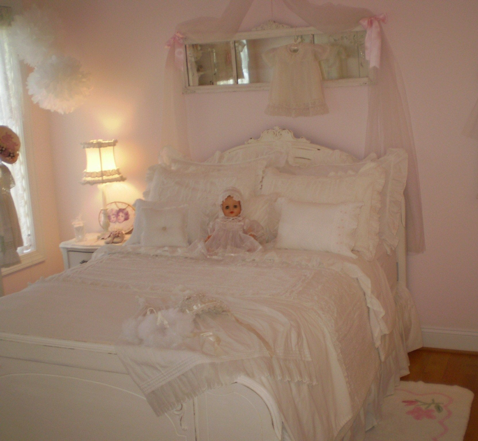 pink vintage bedroom vintage antique white and pink bedroom cottage 12891