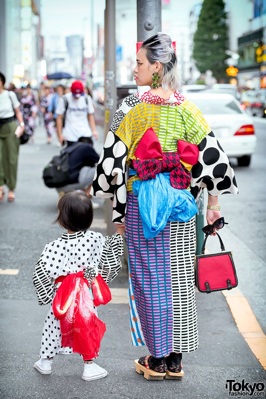 bd8a1a9ba15e2 Handmade Mother   Daughter Kimono   The Ivy Tokyo Accessories in Harajuku
