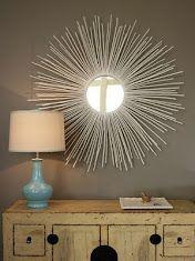 Isabella & Max Sunburst Mirror Project (Whole Tutorial)