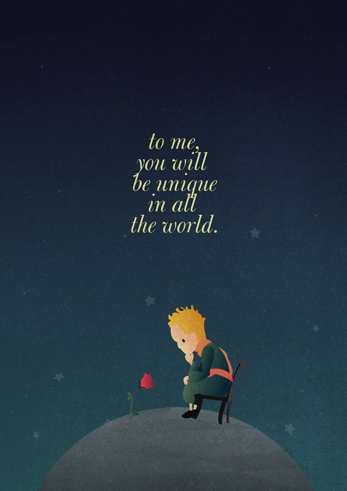 The Little Prince (2015) ~ Movie Quote Poster by Gian Nicdao ...