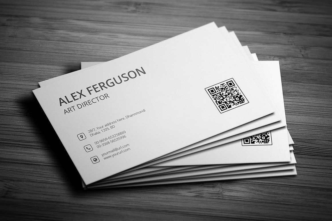 Minimal Business Card by Jilapi on @creativemarket | BUSSINES CARD ...