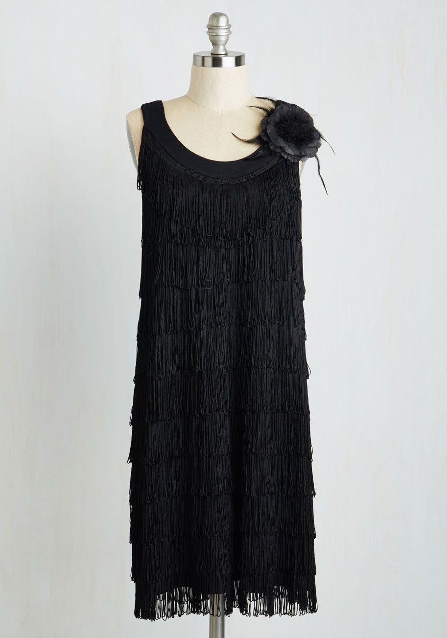 Black dress 1920 style