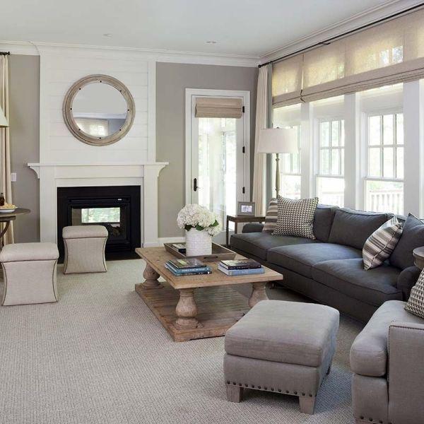 kristin peake interiors  family room casual neutral warm