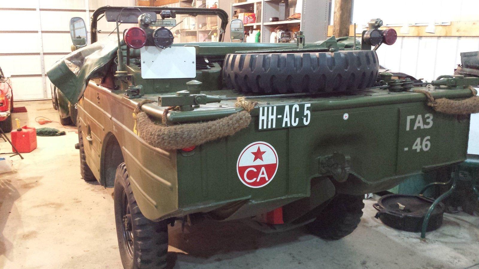 Genuine Russian Jeep