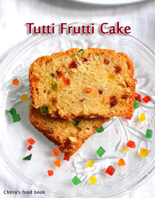 Eggless Tutti Frutti Cake Recipe Basic Vanilla Sponge Cake Recipe Recipe Cake Recipes Recipes Easy Cake Recipes