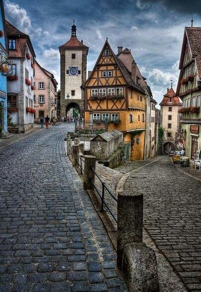 Rothenburg ob der Tauber: one of the most charming medieval towns in Germany