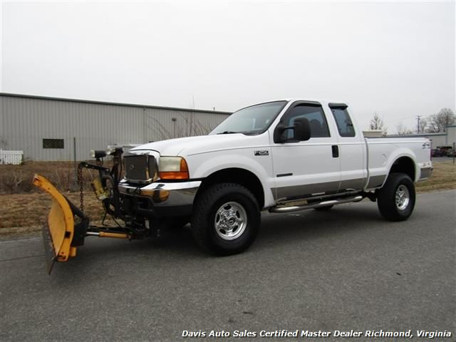 Used 2001 Ford F 250 Super Duty Xlt 7 3 Diesel 4x4 Supercab Snow Plow For Sale In Richmond Va 13 995 Davis Auto Sales Certified Ma F250 Plow Truck Diesel