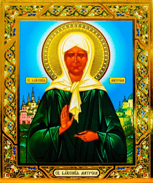 Матрона московская картинки икон