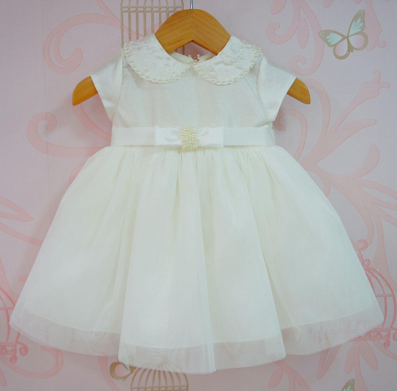 Vestido Branco De Batizado Bebê