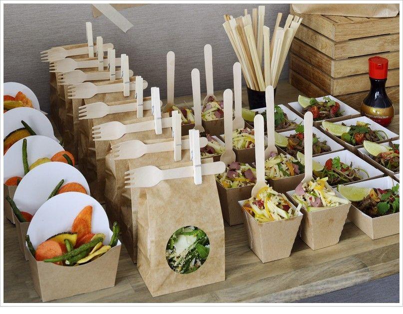 Party Idea   Salads To Go, Ways To Serve Individual Salads