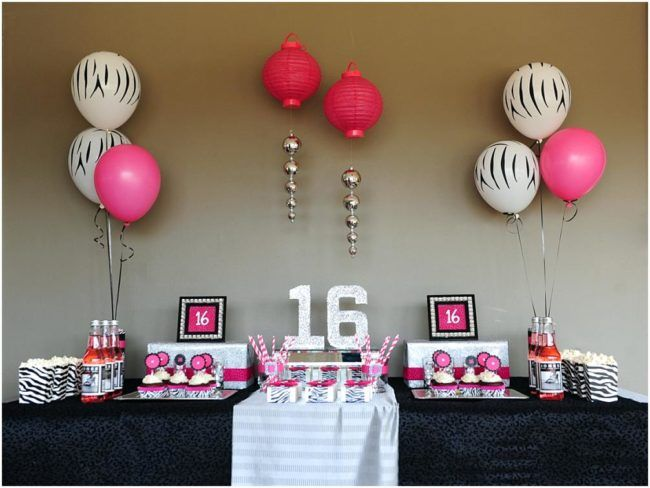 Sweet 16 Party Ideas At Home Explains