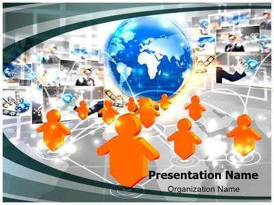 Image result for impressive power point designs for presentation make a great looking ppt presentation quickly and affordably with our professional social networking powerpoint template this social networking ppt toneelgroepblik Images