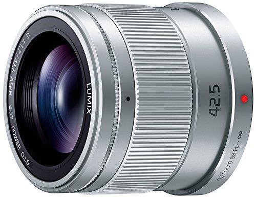 Panasonic Replacement Lens Lumix G 42 5mm F1 7 Asph Power Ois H Hs043 S International Version No Warranty Panasonic Lumix Digital Camera Lens Lens