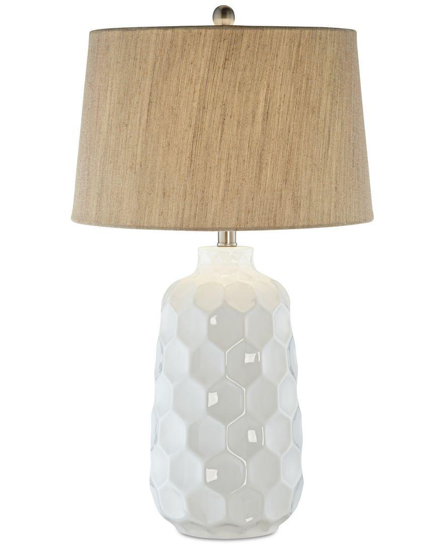 Pacific Coast Honeycomb Dreams Ceramic Table Lamp