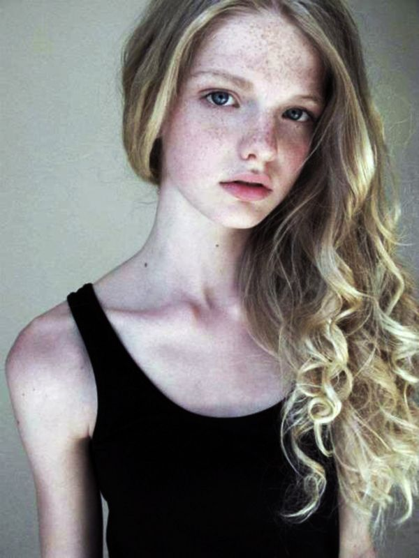 dutch teen facial - Annemarie Kuus from Holland (Fresh Model Management and IMG)