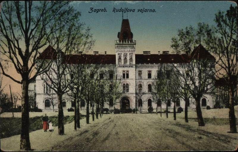 Rudolfova Vojarna Zasticeni Spomenik Kulture U Zapadnom Dijelu