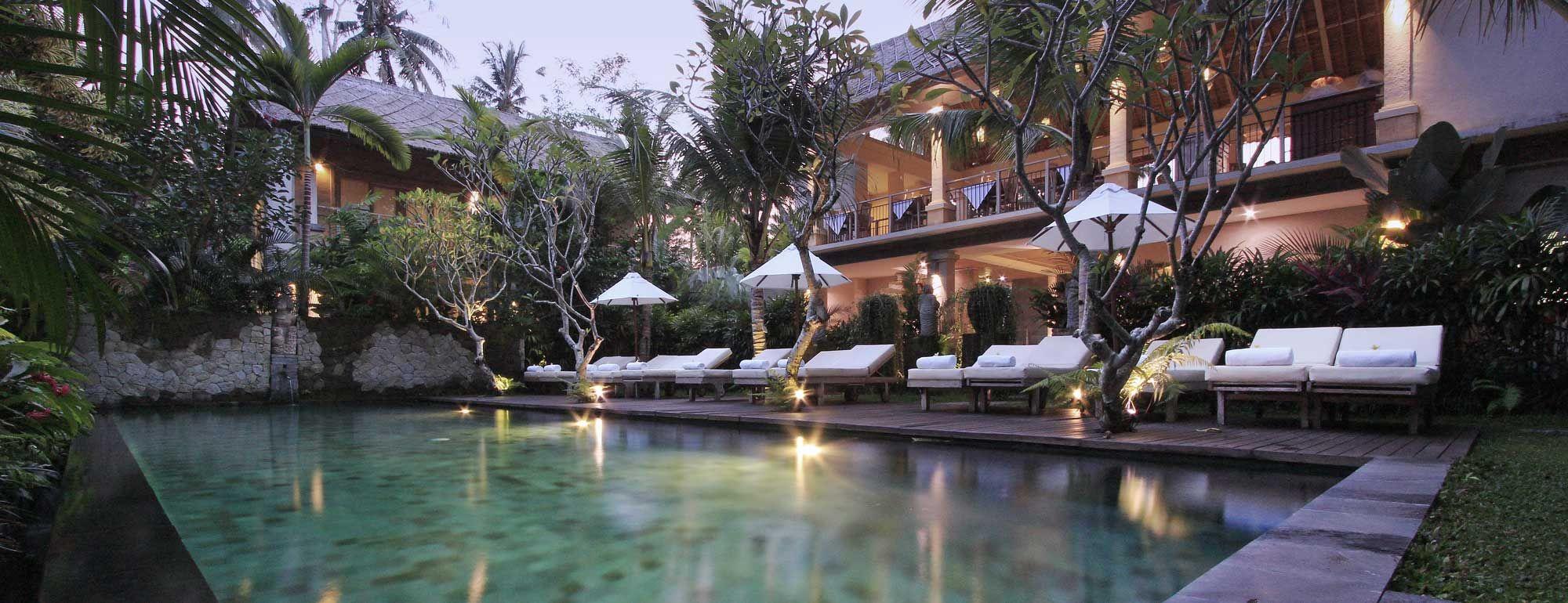 puri sunia resort ubud bali pool view casas de playa ubud ubud rh pinterest com au