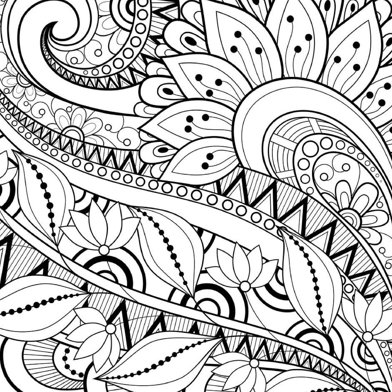 Livro Para Colorir e Relaxar - Formato Convencional - Livros na ...
