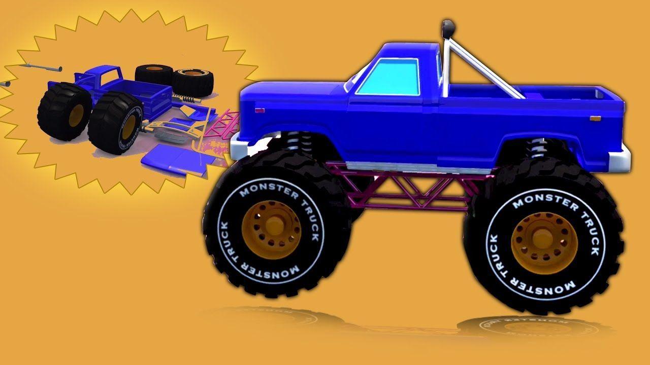 Rakasa Truk Formasi Dan Penggunaan 3d Mainan Truk Untuk Bayi Forma Kids Channel Indonesia Di Sini Dengan Rakasa Tr Monster Trucks Kids Videos Trucks