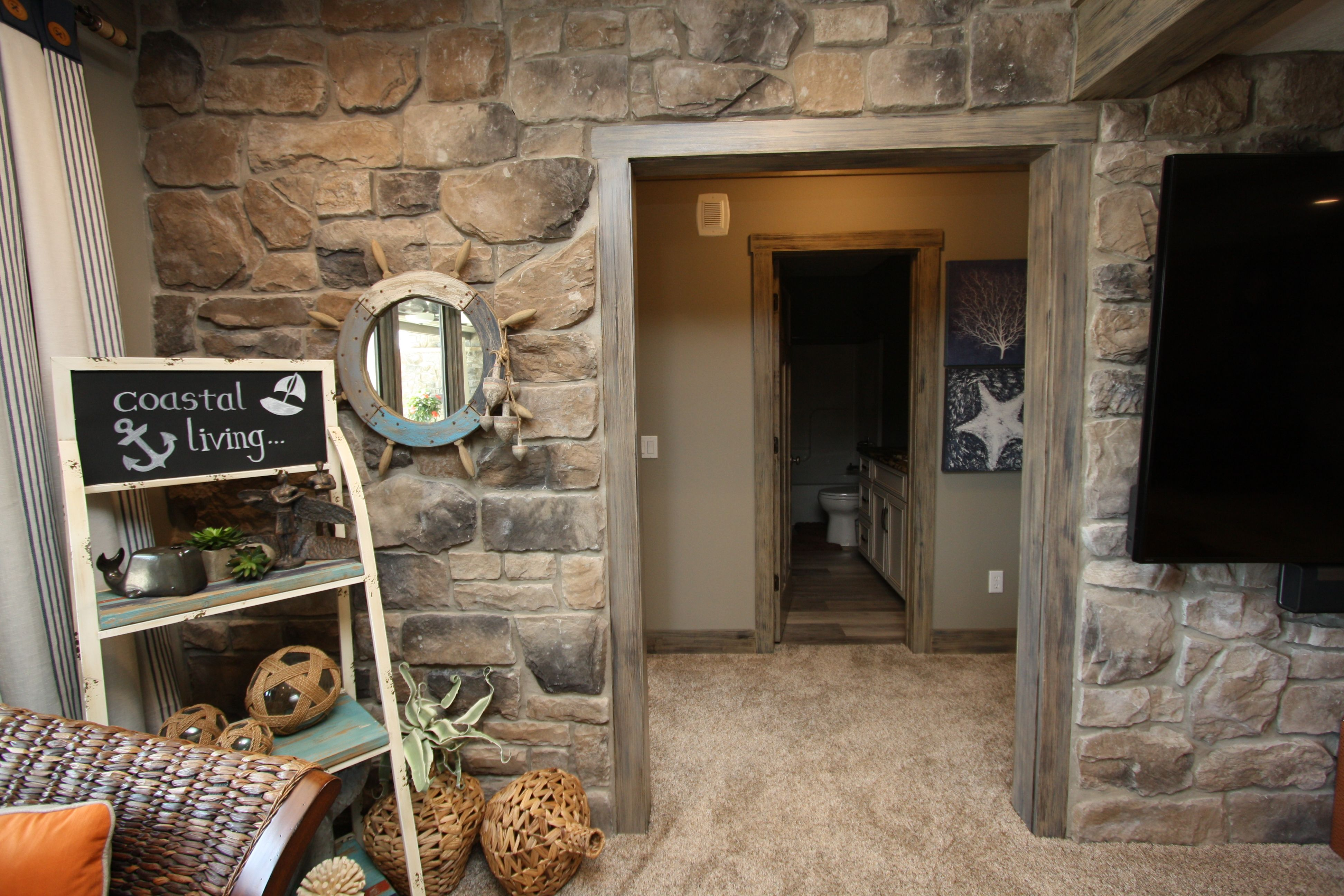 stone look of interior added brings brown wall catching glass and eye bed unusual bedroom black sheet by