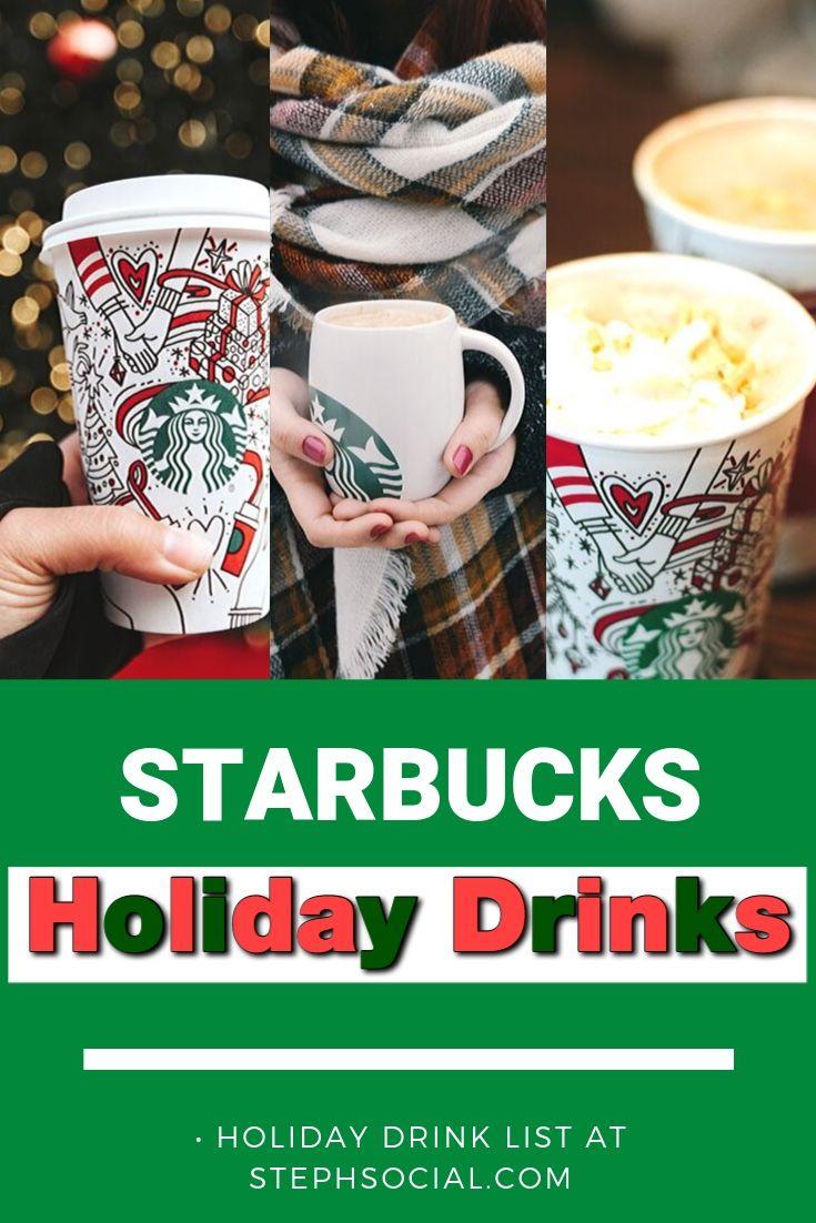 Christmas Starbucks Drinks Starbucks holiday drinks
