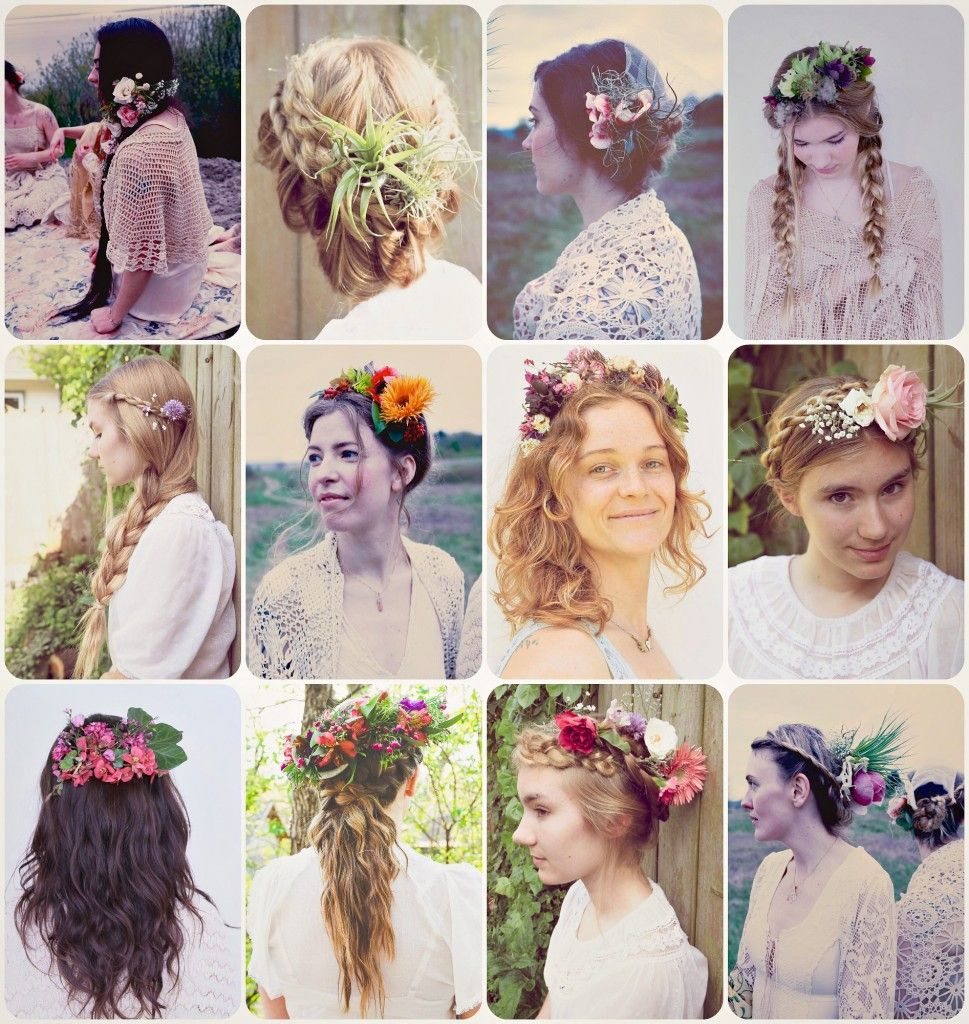 Flower Child4 casual DIY ways to wear flowers in your hair