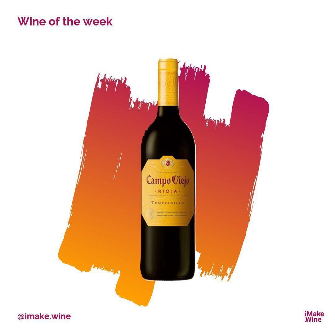 Red Wine Tampranillo 2015 From Campoviejorioja Spanishwine Winemaking Wineoftheweek Winetasting Wine Whitewine Winel In 2020 Wine Bottle Spanish Wine Oenology