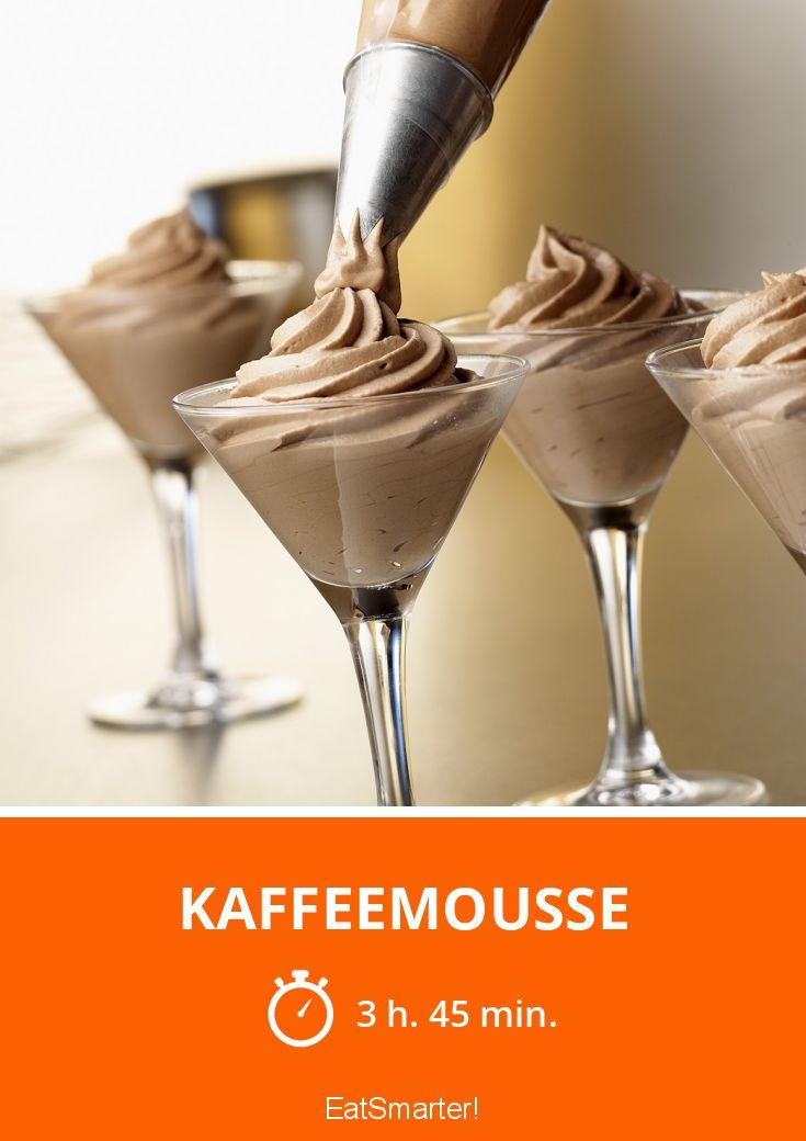 Photo of coffee mousse