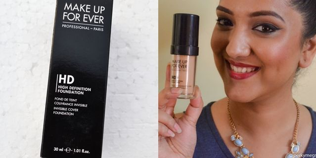 Makeup forever HD foundation Review. Best foundation for oily skin in India. Read for more.