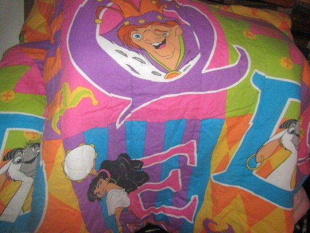 Vintage 90 S Disney Hunchback Of Notre Dame Kid Twin Comforter