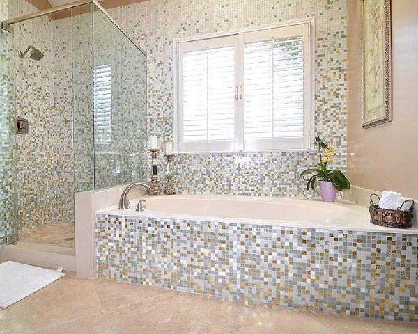 Stylish Bathroom Mosaic Tile Designs 15 Mosaic Tiles Ideas For An Exquisite Bathroom Design Top D Mosaic Bathroom Tile Creative Bathroom Design Mosaic Bathroom