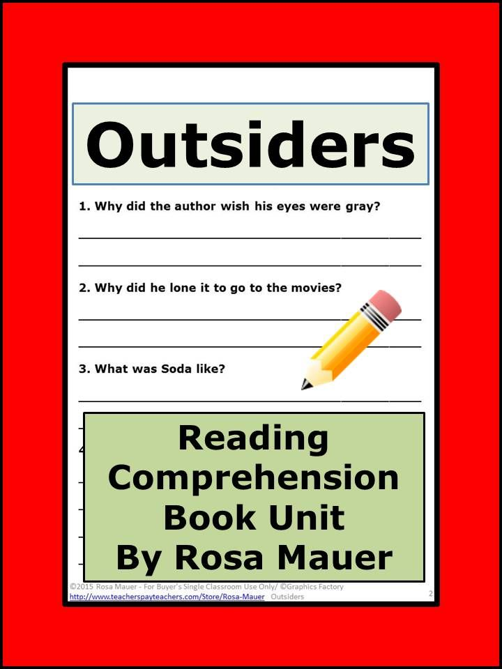 reading log 'the outsiders' The outsiders by se hinton at onreadcom - the best online ebook storage download and read online for free the outsiders by se hinton.