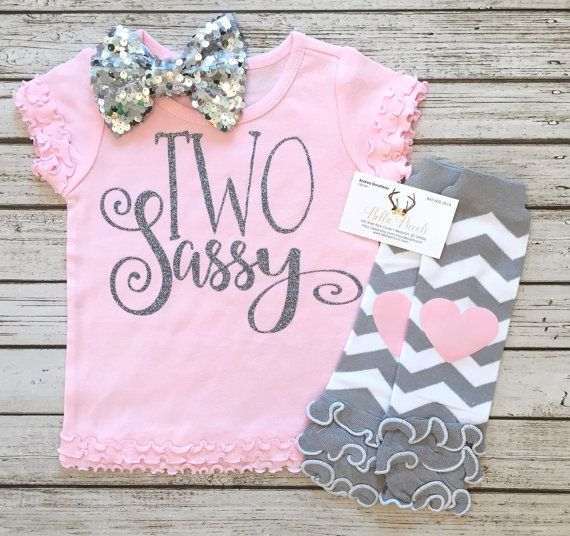 cf212794 TWO Sassy Second Birthday Shirt Two Sassy Tops Baby Girl Clothes Sassy  Shirts Two Sassy Second Birthday Shirt Our sparkle and non sparkle clothing  is a huge ...