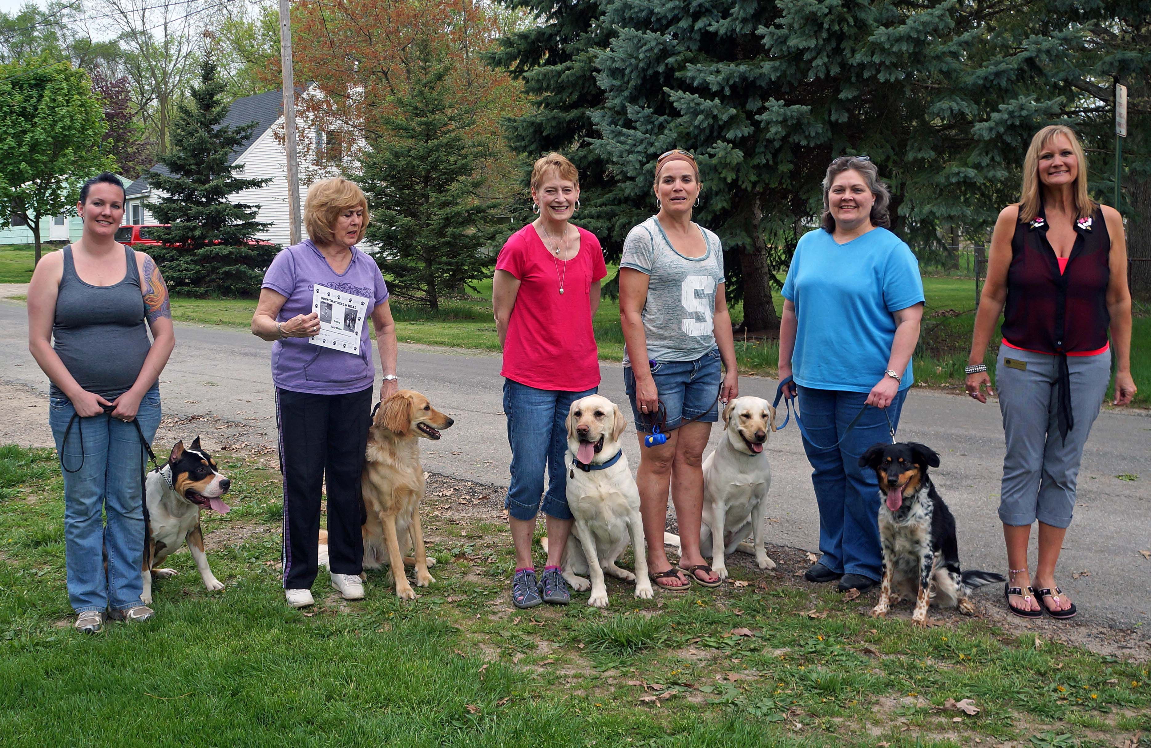 Our Dog Obedience Advanced Class Everyone Received Their Akc