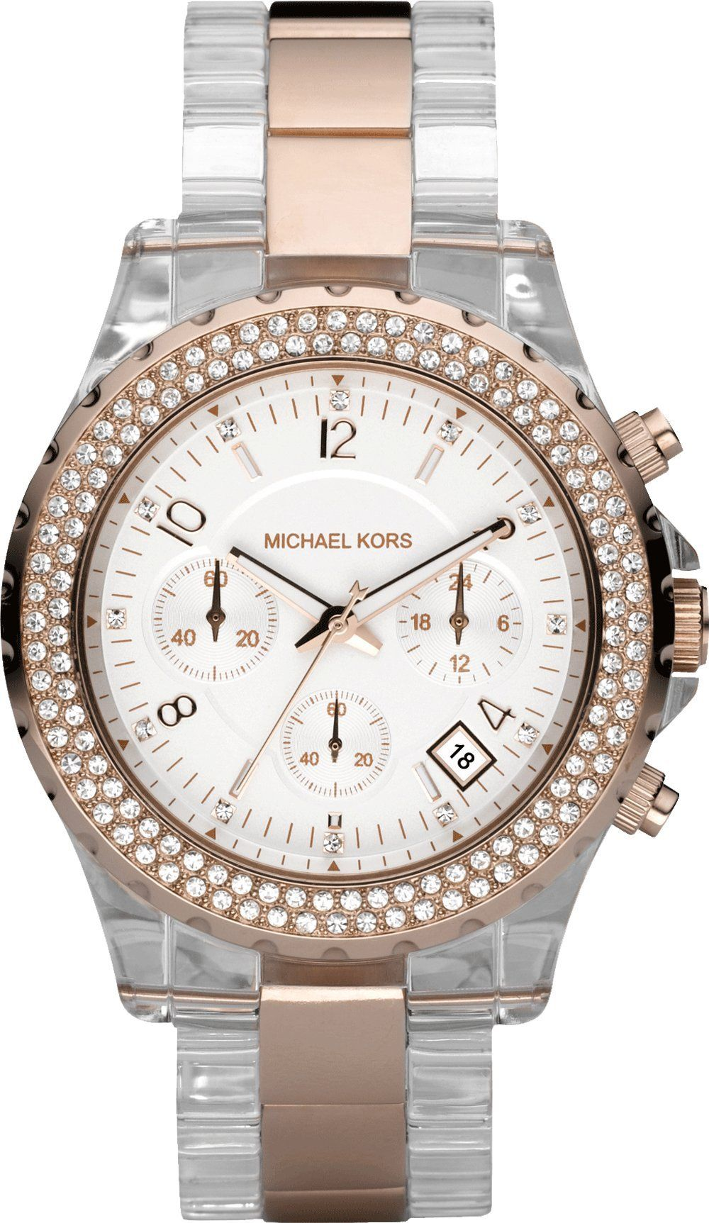d9b581d1ff44 Michael Kors Michaël Kors - Reloj analógico de cuarzo para mujer con correa  de plástico