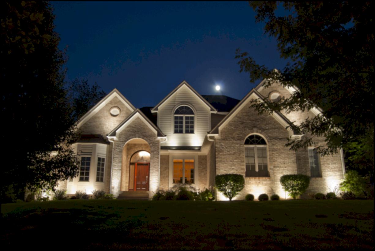 Nice 49 Affordable Landscape Garden Lighting Ideas More At Https Decoratrend Com Exterior House Lights Outdoor Lighting Landscape Landscape Lighting Design