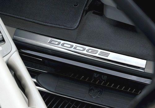 Mopar Dodge Ram Stainless Steel Door Entry Guards
