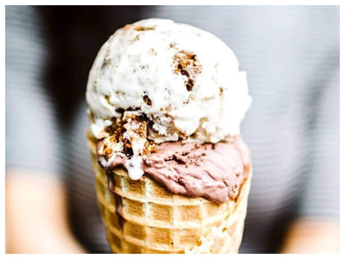 This ice cream is made from food waste and its delicious